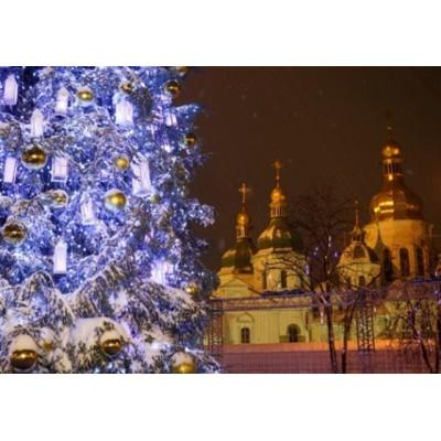 Главная елка в г. Киев + фабрика игрушек 29.12.2019